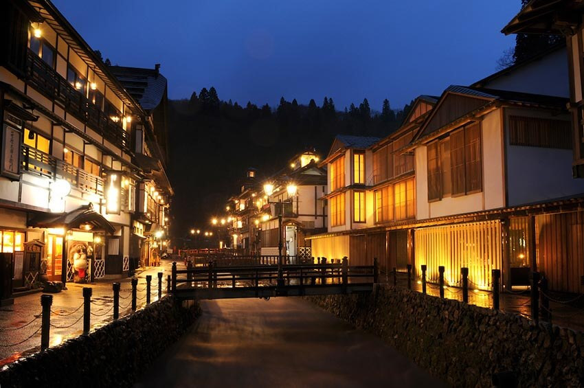 Hot spring village in Tohoku, Photo Tour to Japan