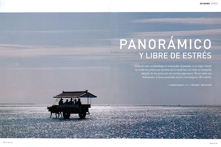 Iriomote published in Yo Dona