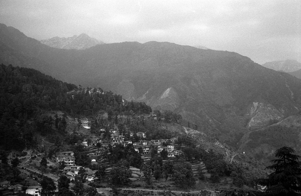 Dharamsala, the biggest exiled Tibetan colony in northern India