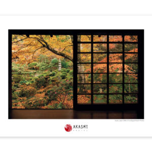 Nan zen in is specially beautiful during autumn, when the leaves turn red